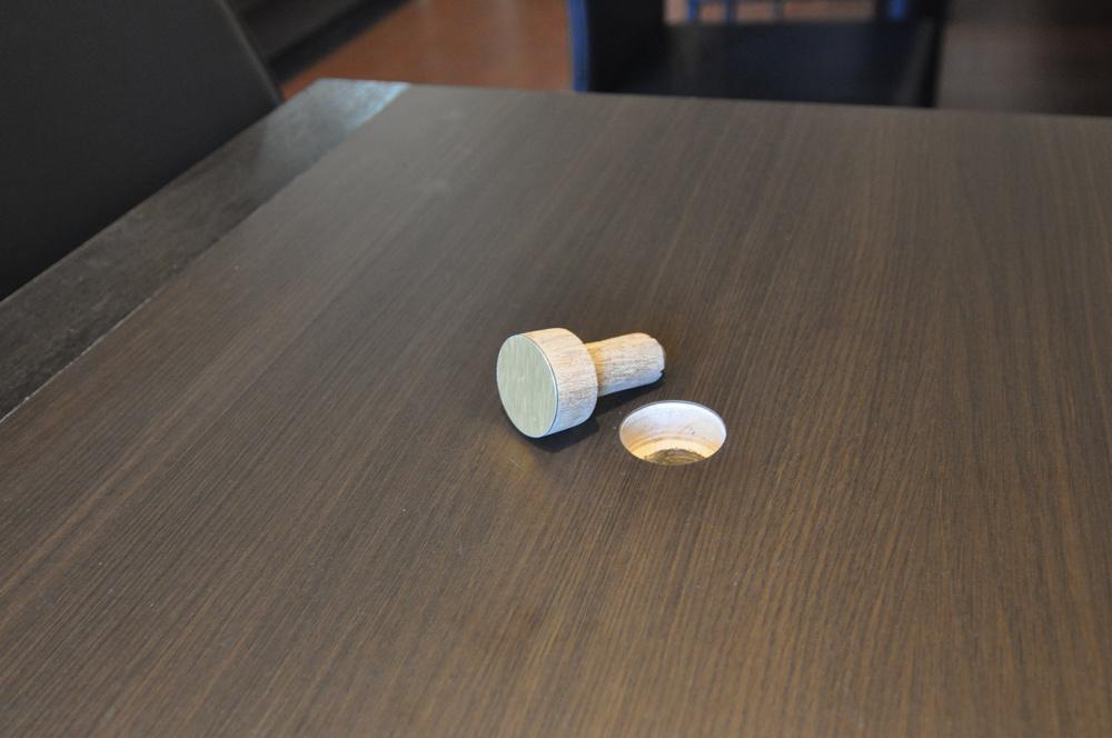 珪藻土 造り付けテーブル