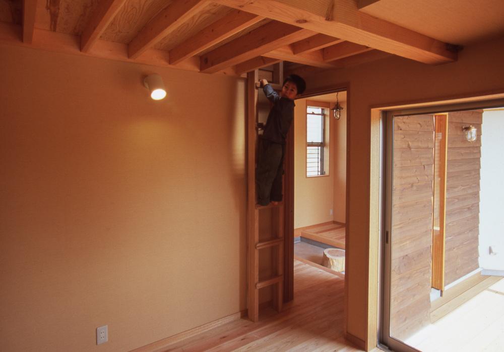 子供部屋 ロフト はしご