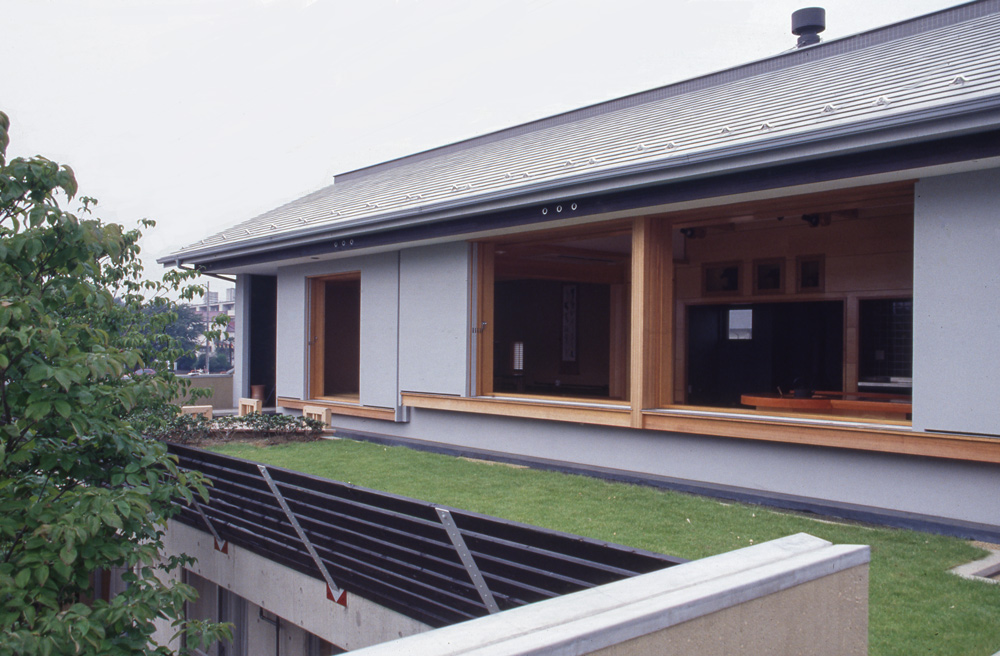 屋上緑化 建築家 独楽蔵