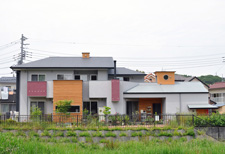 ガレージのある家|八王子|住宅設計