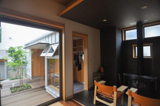 【洗濯物のある風景(ドライルーム)②】設計事務所の家づくりの画像
