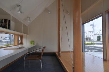 4坪(8畳)コテージハウス タイプA(片流れ屋根:土間)の画像
