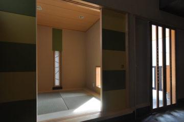 4坪(8畳)コテージハウス タイプC(和室&土間)の画像