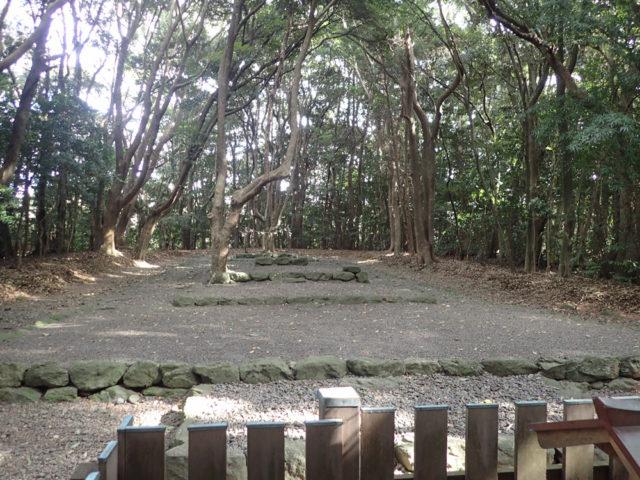 宗像大社:古い神社の形 高宮斎場 ②の画像