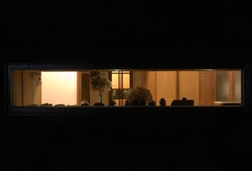 家の明かりにホッと・・・日高市の画像