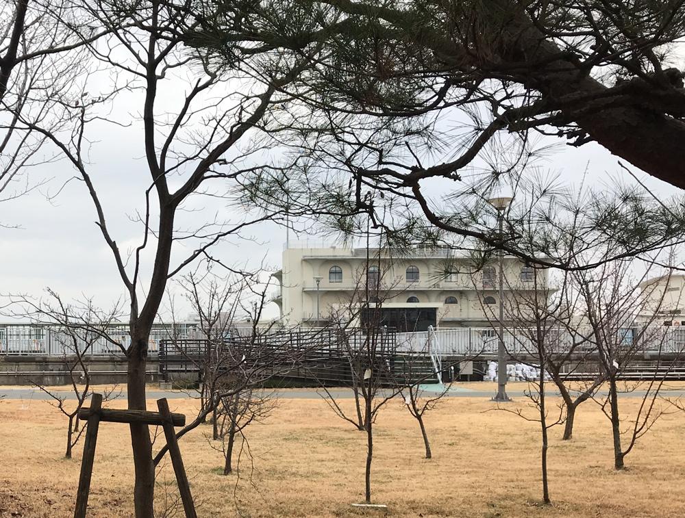 長沢浄水場 山田守