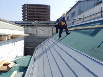 7寸勾配の屋根の画像