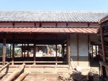 【築100年の民家の改造】 解体工事が始まりました。の画像