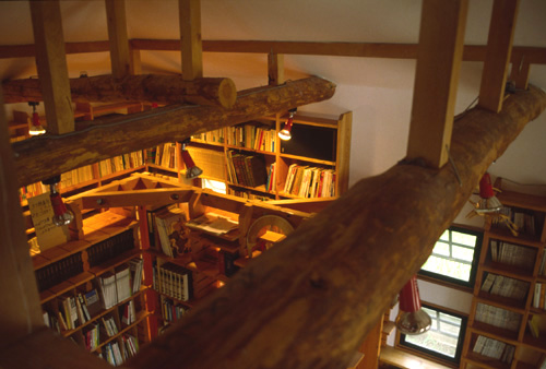 独楽蔵 文庫 図書室 設計