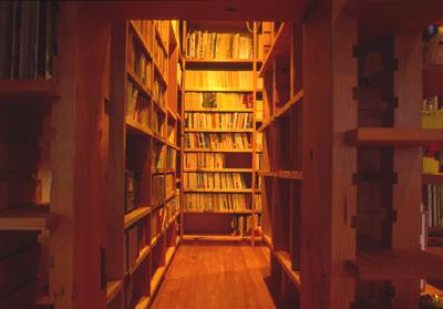 図書室 設計事務所 独楽蔵