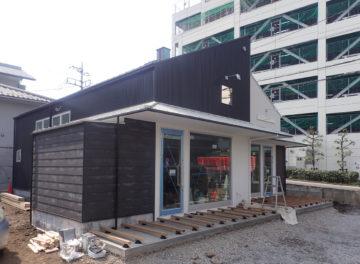 入間市豊岡のテナントハウス[area-T-one]  デッキテラス工事中の画像