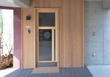 「河村」さんの玄関引き戸の画像