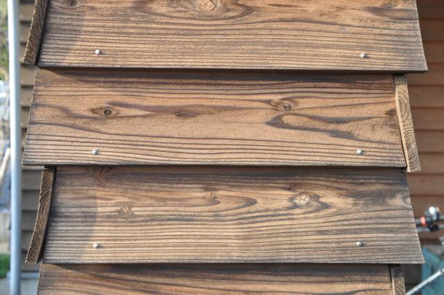 外壁の杉板(南京下見張り) 10年目の経年変化 ②の画像