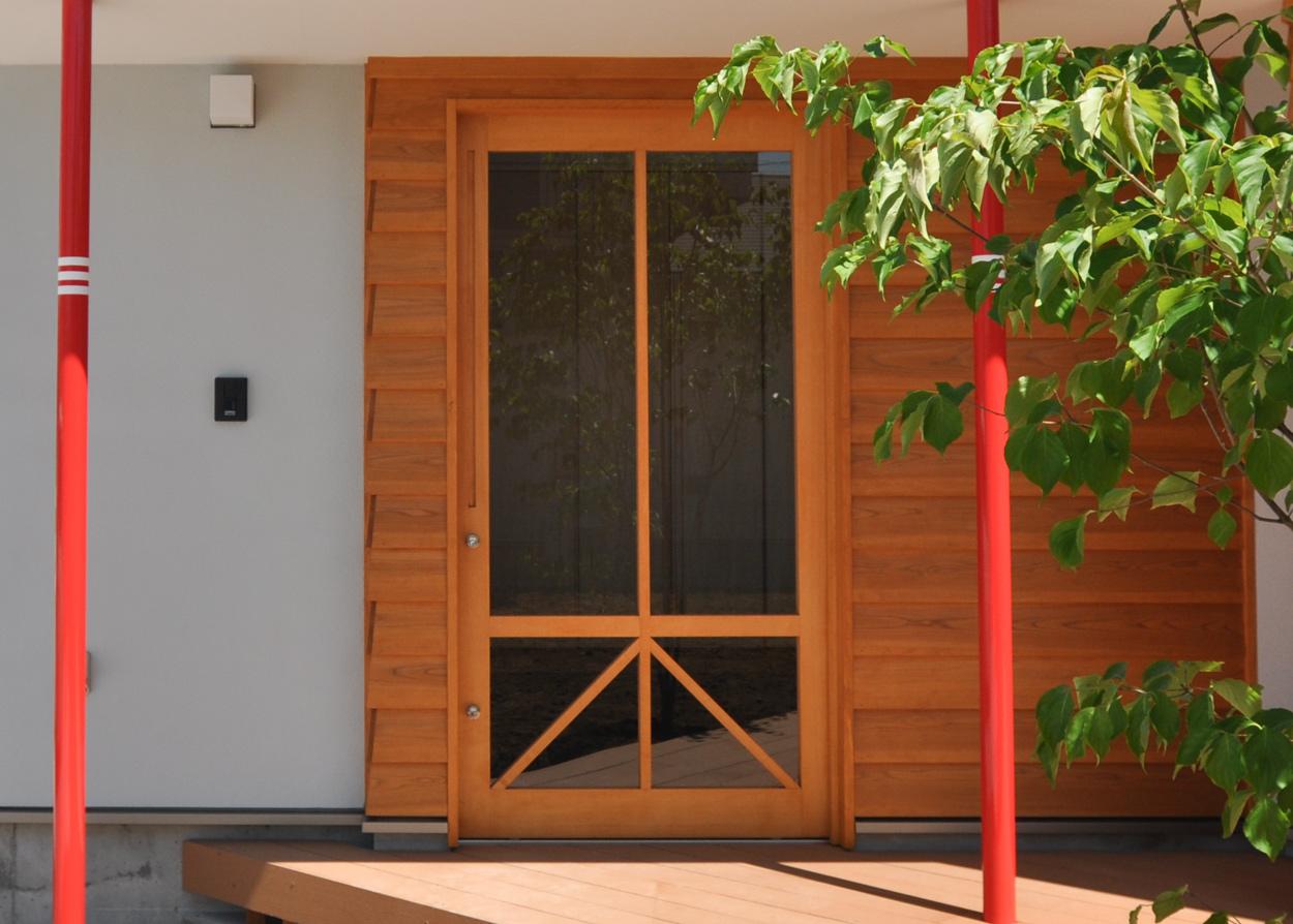 木製ガラス引き戸,玄関ドア,川越