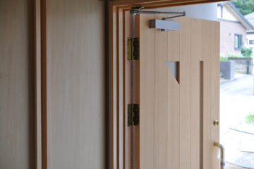 入間市仏子の加治丘陵ふもとの家の画像