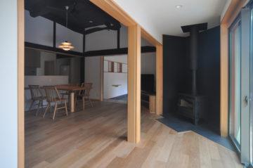 【家づくり:薪ストーブの設置場所をどう決定するか?】(リノベーションの場合)の画像