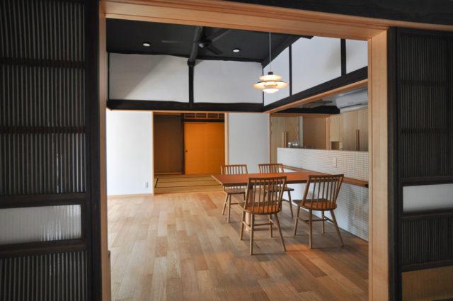築100年 切り妻平屋の日本家屋 リノベーションの画像