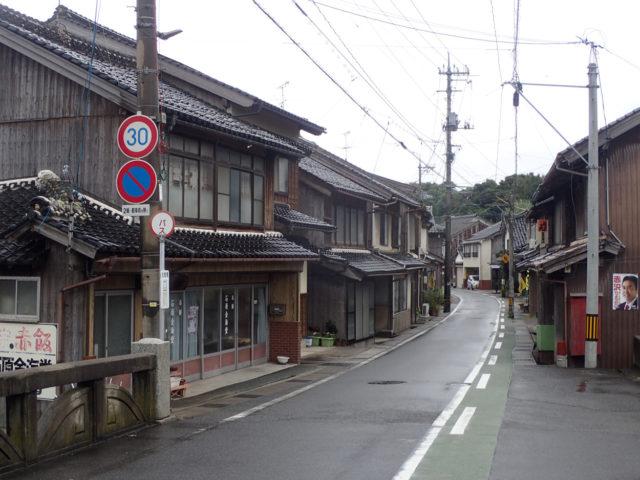 昔の町の雰囲気がまだ残っています。【旧山陰道:赤碕宿(鳥取県東伯郡琴浦町)】の画像