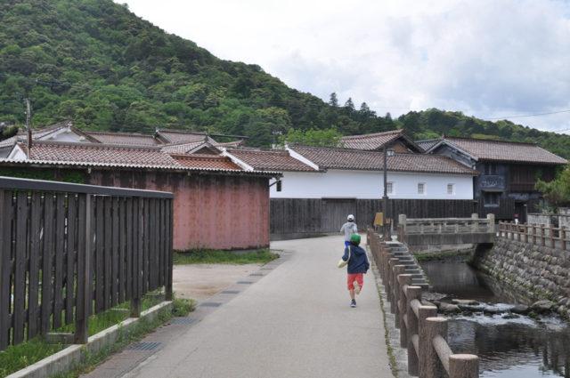 「打吹玉川伝統的建造物群保護地区」倉吉白壁土蔵群(鳥取)の画像
