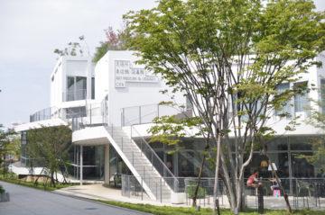 太田市美術館・図書館 ①(図書館・カフェ部分)の画像