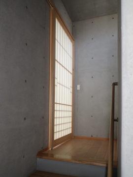 上野桜木町の住宅の小改造の画像