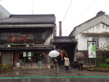 旧七ツ梅酒造(田中藤左衞門商店):深谷宿の画像