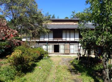 群馬県みなかみ町で、築150年の養蚕家屋の現状調査の画像