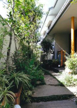 9年前に「家づくり」をしたお客様から、お手紙とお庭のお写真を頂きましたの画像