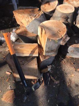 【薪割りの呪文? 木元竹末(きもとたけうら)】薪ストーブのある生活の画像