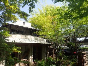 【屋上緑化の上の木造平屋と秘密の小屋裏部屋②外部から確認】独楽蔵:こまぐら(設計事務所)のアトリエの画像