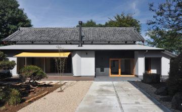 築100年の古民家を改造した住宅に、薪ストーブの取扱説明に・・・(引っ越し後、約3ヶ月)の画像