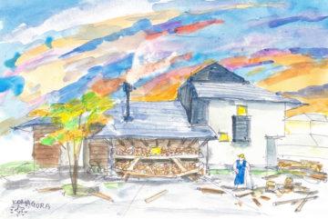 【五感を育む遊び心いっぱいの家】 イラスト計画案&コンセプトイラストの画像