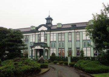 【木造の学舎(まなびや)は難しい・・・?】深谷商業高校記念館(二層楼)の画像