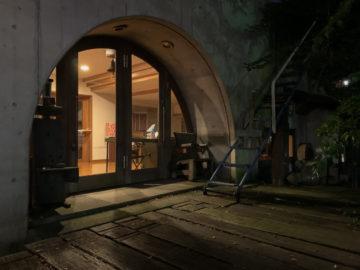 2020年2月 冬の夜景 建築設計事務所 独楽蔵(こまぐら)のアトリエの画像