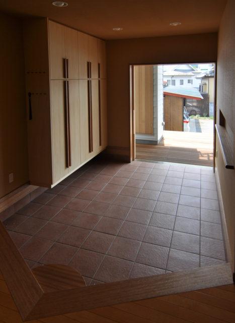 【造り付けの下足入れの寸法について①】設計事務所の家づくりの画像