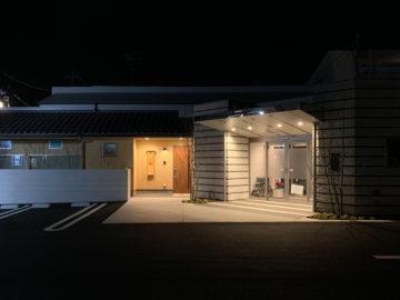 シティホール飯能(セレモニーホール)オープン1ヶ月後 夜景の画像
