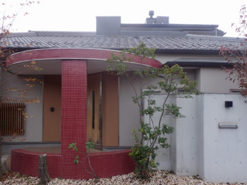【8年経過したコンクリートの塀が、キレイな状態を保っている理由】設計事務所の家づくりの画像