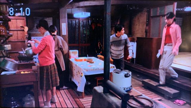 NHK連続テレビ小説『スカーレット』の川原家 土間空間を設計者目線で観察。の画像