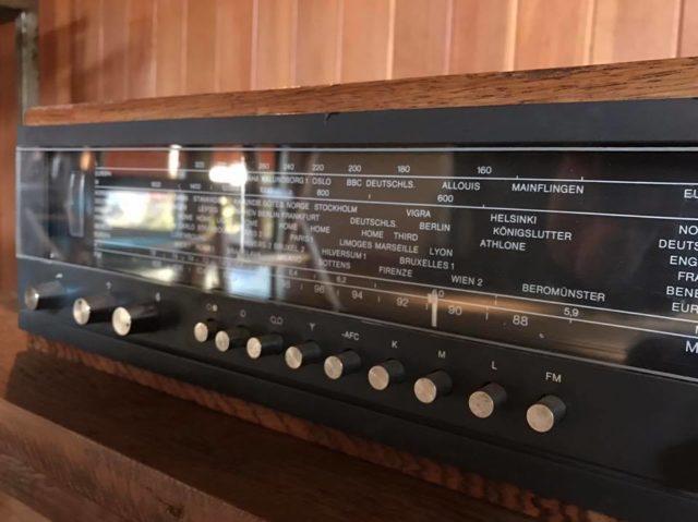 【インテリアとしての佇まいのあるラジオ】(AmadanaとBang&Olufsen)インテリアデザインの画像