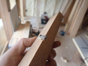 【道具の美しさ:大工さんの道具】埼玉の無垢材の家づくり(設計事務所の建築現場)の画像