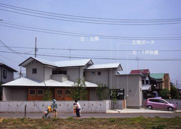 【花粉対策から考える玄関】埼玉の設計事務所の家づくりの画像