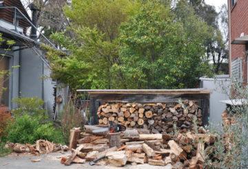 【巣ごもり生活:薪割り作業】日高市の家づくり その後の画像