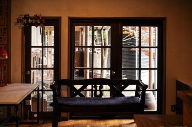 【設計事務所の仕事場 ルームツアー】1階デスクワークスペース&中庭の画像
