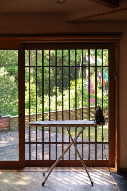 『アイロン掛け』&『靴磨き』は、一番気持ちのいい場所で(埼玉県 設計事務所の家づくり)の画像