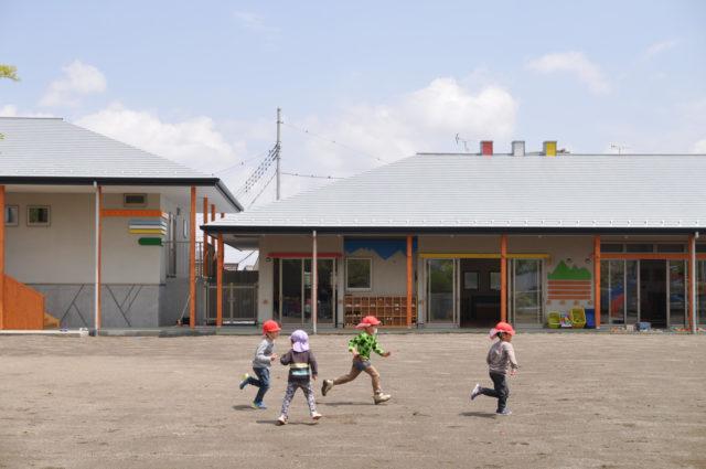 【かぴら幼稚園 第2園舎完成後 約1ヶ月】設計事務所の建築デザイン(坂戸市)の画像