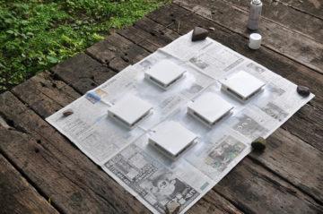 【通気口の経年変化(黄ばみ)】木造住宅のメンテナンスの画像