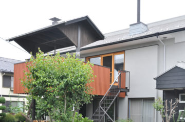 【独楽蔵で20年前に設計した住宅】リビングの改造&外部のメンテナンスの画像