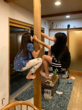 【我が家の大黒柱(ヒノキの磨き丸太)の使われ方】設計事務所の家づくりの画像