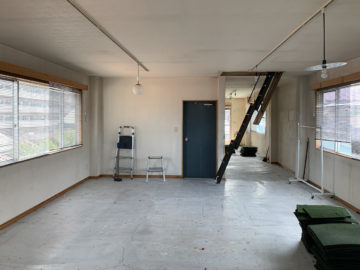 重量鉄骨3階建ての一部【オフィス→住宅】のリノベーション(入間市)の画像