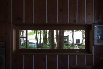【STORM & SUNNY】奥武蔵 設計事務所のアトリエ(窓辺の風景)の画像